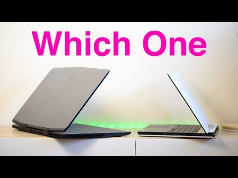 Alienware M17 RTX 2080 V Dell G5 - Whats The Difference - Unboxing And First Look Review
