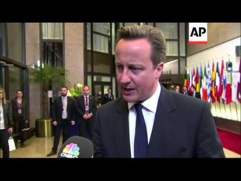 Merkel, Cameron and Hollande on next line of action over Ukraine crisis