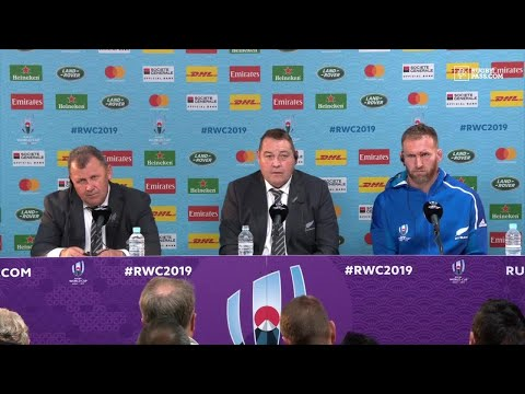 Steve Hansen and Kieran read press conference   New Zealand vs Ireland