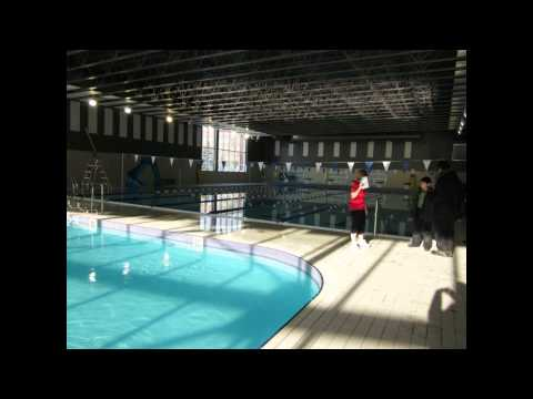 New ndg sports complex pool centre sportif piscine de for Centre sportif terrebonne piscine
