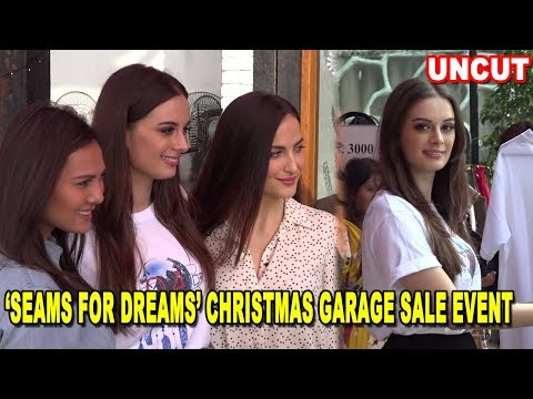 Evelyn Sharma, Elli Avram & Rochelle Rao At 'Seams For Dreams' Christmas Garage Sale Event | 2017