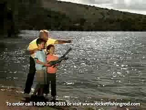 Rocket fishing rod for Betty nick s fishing report