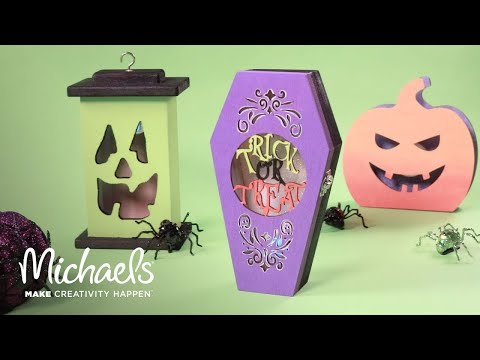 Decorate for Halloween: DIY Coffin Decor! | Michaels