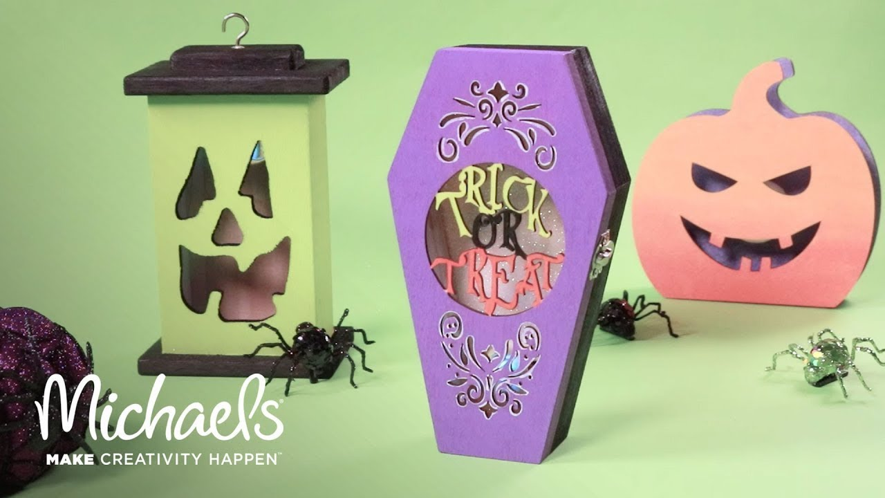 Decorate for Halloween: DIY Coffin Decor! | Michaels - YouTube