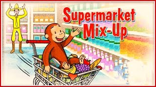 ♡ Curious George / Jorge el Curioso - Supermarket Mix-up Funny Pattern Video Game For Kids English thumbnail