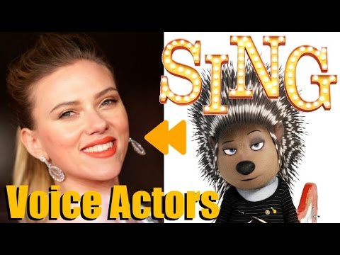 """""""Sing (2016)"""" Voice Actors and Characters"""