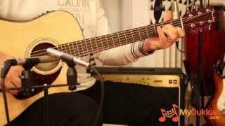 Fender CD-140SCE Elektro Akustik Gitar İncelemesi (Hızlı Video)