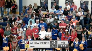 Boys District Basketball | Ava vs Willow Springs | 3-3-21