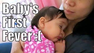 baby s first fever april 27 2015 itsjudyslife vlogs