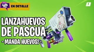 PASCUA'S LANZAOVA, TO USE IT ONCE A YEAR! FORTNITE SAVE THE WORLD SPANISH GUIDE