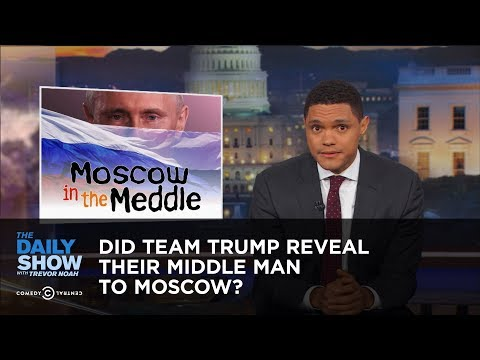 Download Youtube: Did Team Trump Reveal Their Middle Man to Moscow?: The Daily Show