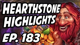 Hearthstone Daily Highlights | Ep. 183 | DisguisedToastHS, PlayHearthstone, AmazHS, Amnesia_sc