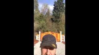 Wood Ninja #1- Custom Wood Driveway Gate