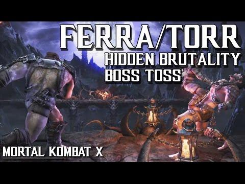 MKXL: Ferra/Torr New Hidden Brutality BOSS TOSS