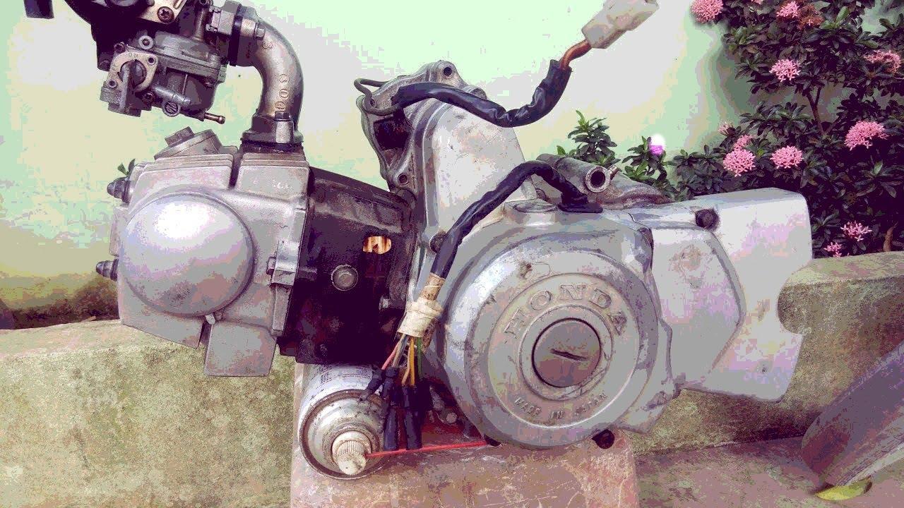 Honda Dream 2 Full Restoration Mode In Thailand
