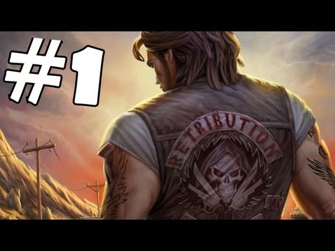 Ride to Hell Retribution Walkthrough Part 1 Gameplay Review Lets Play Playthrough PC/PS3/Xbox 360