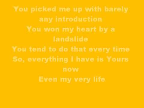 Yours To Take - Jimmy Needham (Lyrics)