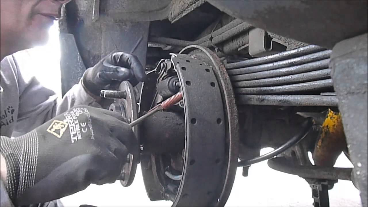 fixing the lazy parking brake cable on the 1996 gmc suburban diesel youtube [ 1280 x 720 Pixel ]