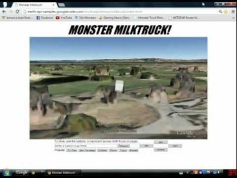 Monster Milk Truck Gameplay