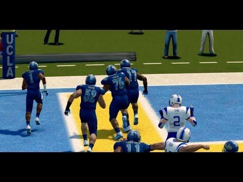 NCAA Football 14 Baltimore State Dynasty Year 2 - W9 @ #1 UCLA