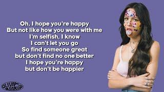Download Olivia Rodrigo - happier (Lyrics)