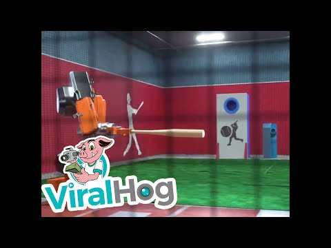 Sean Salisbury - Watch Out Mike Trout...This Robot Might Be The Best Hitter Of All-Time