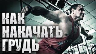 Как накачать грудные мышцы  Комплекс упражнений(В новом видео нам расскажет как накачать грудные мышцы и покажет свой комплекс упражнений для мышц груди..., 2013-07-31T08:13:00.000Z)