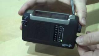 wind up radio, PowerPlus Cheetah  available from Ecodigital.co.uk