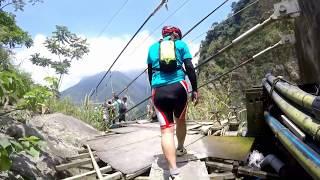 雙龍林道、雙龍瀑布、天時棧道、水管吊橋(三部曲)~台灣越野單車(登山車)旅行路線之50