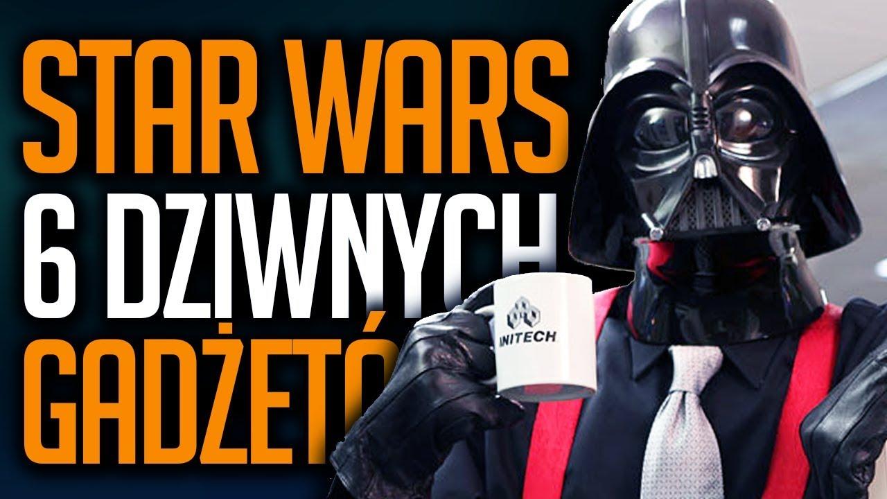 6 DZIWNYCH GADŻETÓW ZE STAR WARS!