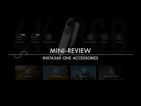 แกะกล่อง Insta360 ONE Android adapter, Water proof housing, selfie stick และ tripod
