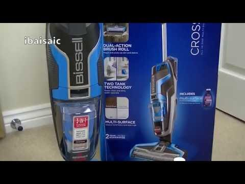 Bissell Crosswave Multi Surface Cleaner Unboxing Amp First