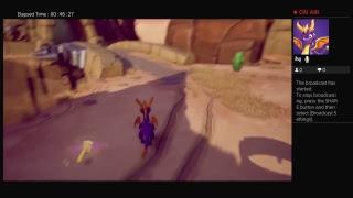 Smallish_Giant Live PS4 SPYRO TRILOGY REIGNITED