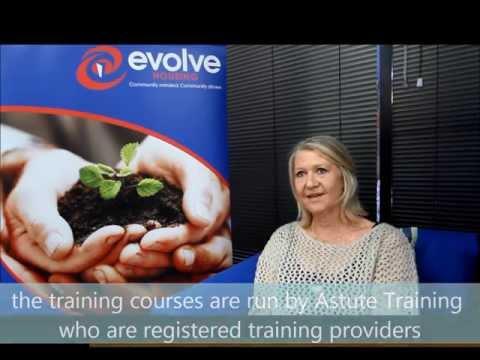 'Training people for life' Evolve Housing partnership with Astute Training