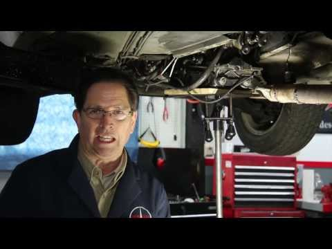 How to Install Mercedes Transmission Shift Rod Bushings in Tight Spaces - Kent Bergsma