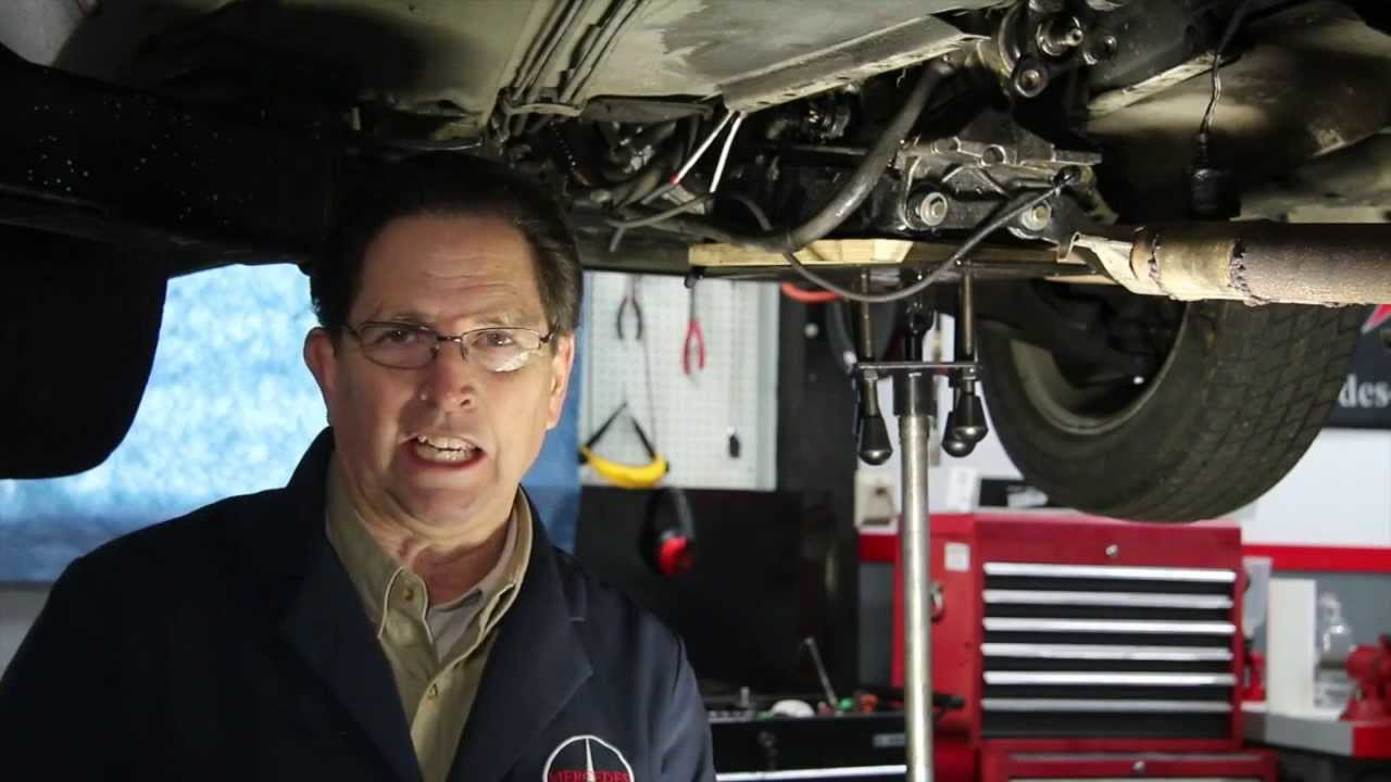 medium resolution of how to install mercedes transmission shift rod bushings in tight spaces kent bergsma