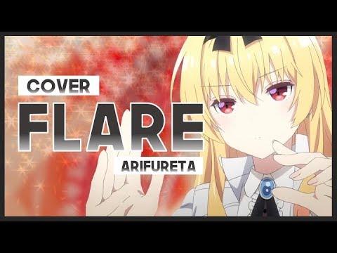 """【mew】""""flare""""-void_chords-feat.-lio-║-arifureta-op-║-full-english-cover-&-lyrics"""