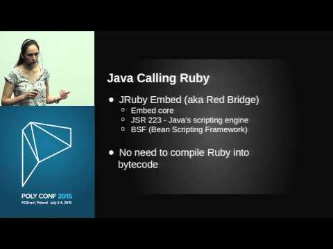 PolyConf 15: JRuby - How Ruby and Java meet on the same JVM / Alissa Bonas