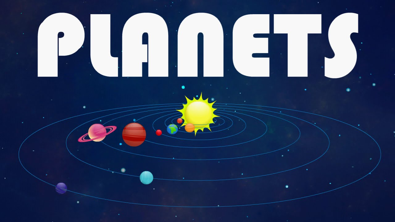 Planets Our Solar System For Kids By Little Buds - YouTube