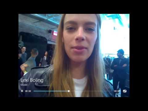 Inside New York Fashion Week A/W14 with Skype: No. 2 -- What the industry pros love