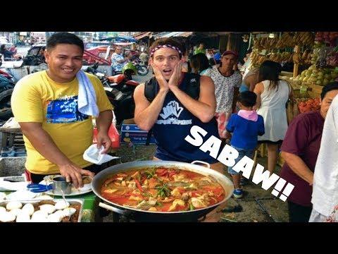 FILIPINO STREET FOOD STYLE SOUP FULL OF MEAT (IloIlo City Night Life)