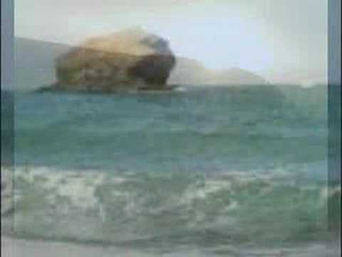 Video om stormflod i Portreath, Cornwall.