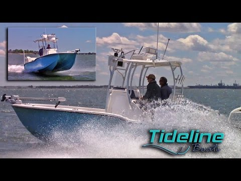 Lower Bay Boat Show Tideline 235 Jim Baugh Outdoors TV 2017