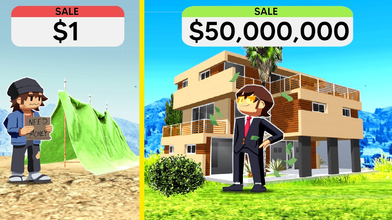 Download $1 House VS $50,000,000 HOUSE In GTA 5!