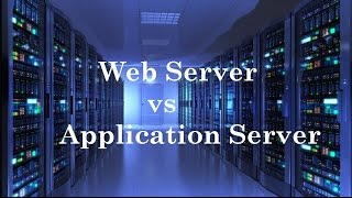 IQ 9: Whats the difference between Web and App Server?
