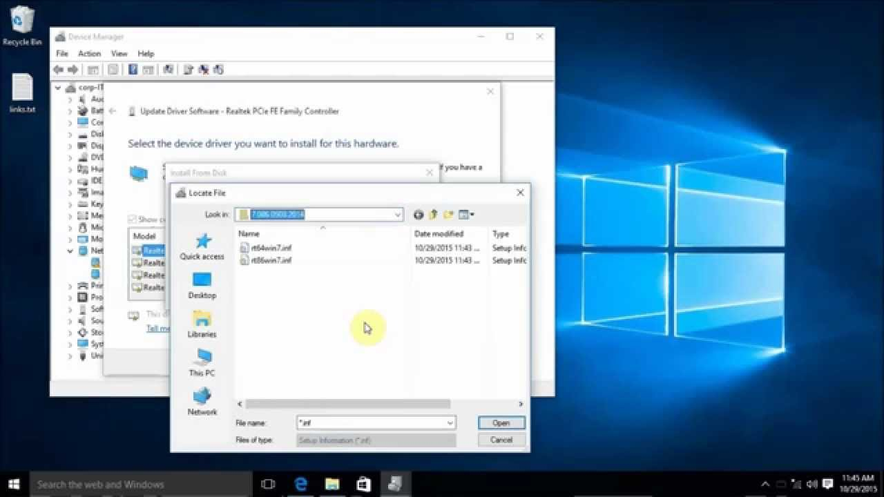 where are drivers stored windows 10