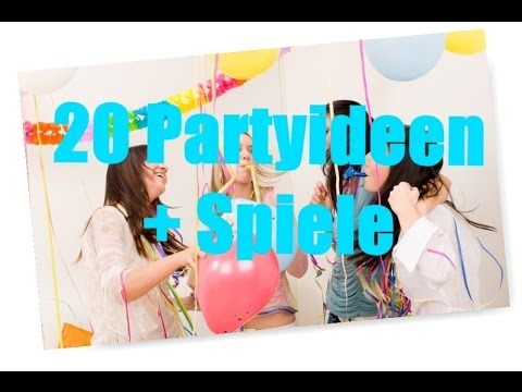 20 Partyideen + Spiele |Sopl - YouTube