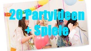 20 Partyideen + Spiele |Sopl