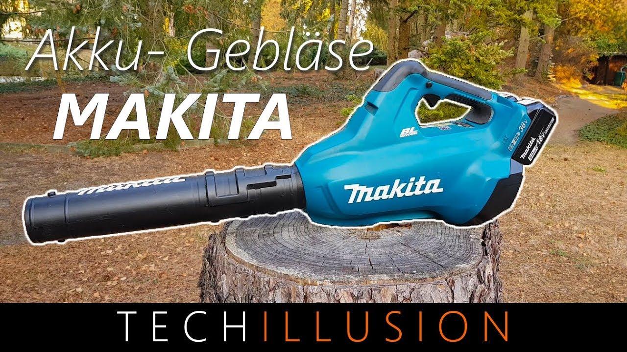Makita Akku-Gebläse 2x18V DUB362PT4