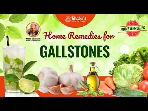 How to naturally detox your liver and flush out gallstones with herbs and home remedies.